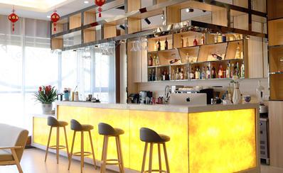 郑州美味学院咖啡饮品教学区