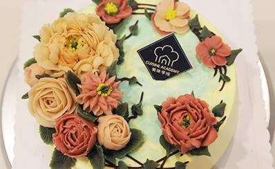 韩式裱花蛋糕