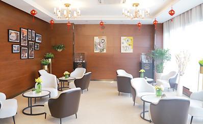 郑州美味学院休闲区